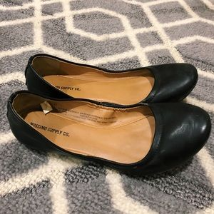 mossimo black ballet style flats